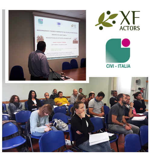 Civi Italia XF-Actors seminars