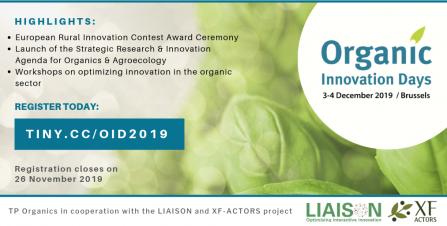 Organic Innovation Days 2019